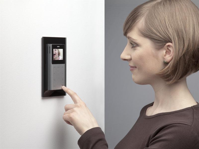 sprech videoanlagen elektro wallbott. Black Bedroom Furniture Sets. Home Design Ideas